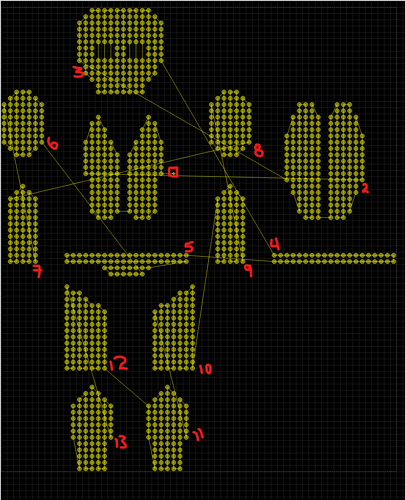 ORC Costume Mapping Image